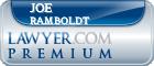Joe L. Ramboldt  Lawyer Badge