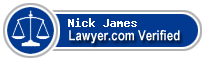 Nick James  Lawyer Badge
