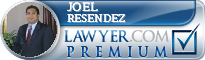 Joel C. Resendez  Lawyer Badge