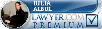 Iulia Albul  Lawyer Badge
