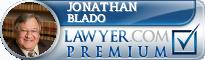 Jonathan W. Blado  Lawyer Badge