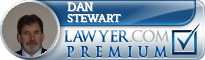 Dan Stewart  Lawyer Badge
