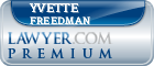 Yvette R. Freedman  Lawyer Badge