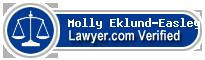Molly Eklund-Easley  Lawyer Badge