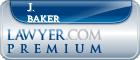 J. R. Baker  Lawyer Badge