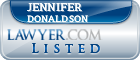 Jennifer Donaldson Lawyer Badge