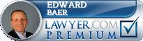 Edward G. Baer  Lawyer Badge