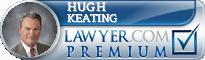 Hugh D. Keating  Lawyer Badge