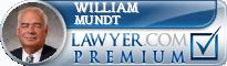 William F. Mundt  Lawyer Badge