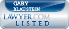 Gary Blaustein Lawyer Badge