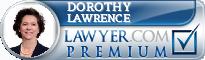 Dorothy Sheridan Watkins Lawrence  Lawyer Badge