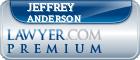 Jeffrey C. Anderson  Lawyer Badge