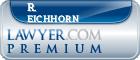 R. Scott Eichhorn  Lawyer Badge