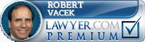 Robert F. Vacek  Lawyer Badge
