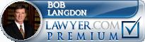 Bob Langdon  Lawyer Badge