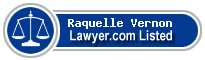Raquelle Vernon Lawyer Badge