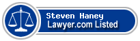 Steven Haney Lawyer Badge