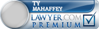 Ty S. Mahaffey  Lawyer Badge