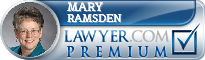 Mary Sue Ramsden  Lawyer Badge