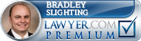 Bradley S Slighting  Lawyer Badge