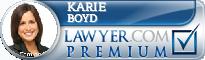 Karie J. Boyd  Lawyer Badge