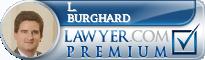 L. Ivan Burghard  Lawyer Badge