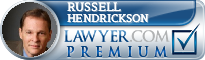 Russell L. Hendrickson  Lawyer Badge