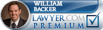 William A. Backer  Lawyer Badge