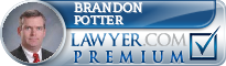 Brandon C. Potter  Lawyer Badge