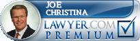 Joe Christina  Lawyer Badge