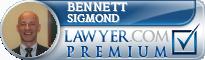 Bennett M. Sigmond  Lawyer Badge