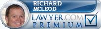 Richard E. McLeod  Lawyer Badge