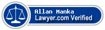 Allan R. Manka  Lawyer Badge