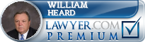 William C. Heard  Lawyer Badge