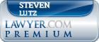 Steven M. Lutz  Lawyer Badge