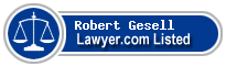 Robert Gesell Lawyer Badge