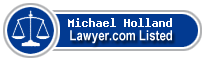 Michael Holland Lawyer Badge