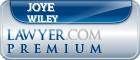 Joye L. Wiley  Lawyer Badge