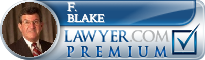F. Peter Blake  Lawyer Badge