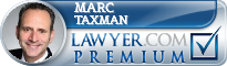 Marc A. Taxman  Lawyer Badge