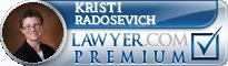 Kristi M. Radosevich  Lawyer Badge