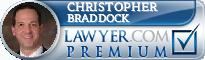 Christopher T. Braddock  Lawyer Badge