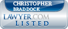 Christopher Braddock Lawyer Badge