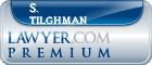 S. Mark Tilghman  Lawyer Badge
