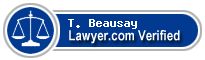 T. Jeffrey Beausay  Lawyer Badge