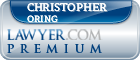Christopher L Oring  Lawyer Badge