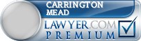Carrington Madison Mead  Lawyer Badge