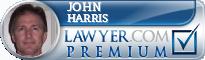 John D. Harris  Lawyer Badge