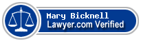 Mary D. Bicknell  Lawyer Badge