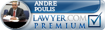 Andre Nicholas Poulis  Lawyer Badge